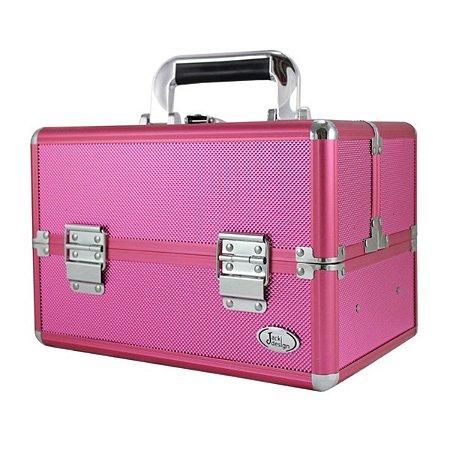 Maleta de maquiagem profissional Jacki Design Pink