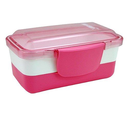 Marmita 2 andares com 950 ml Pink Jacki Design