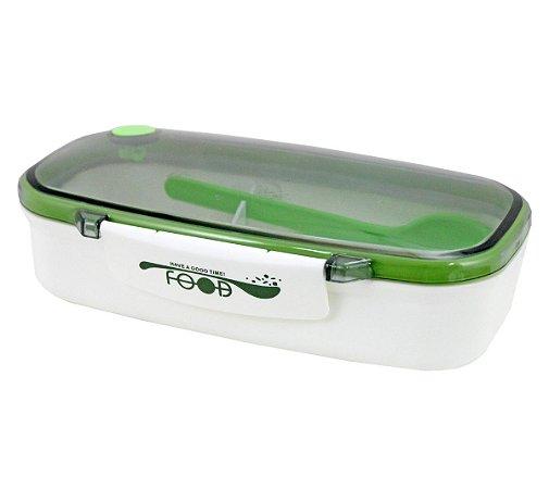 Marmita Com 2 Compartimentos 850ml Verde Jacki Design