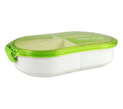 Marmita 3 compartimentos 750 ml Jacki Design Verde