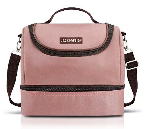 Bolsa Térmica dupla rosa Essencial Jacki Design