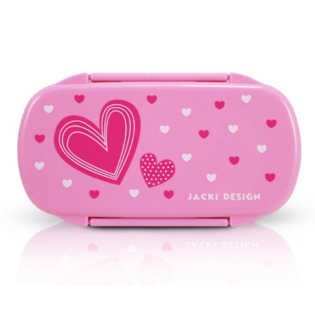 Pote para Lanche Sapeka Jacki Design Coração Pink