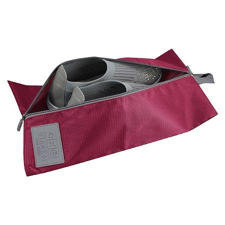 Bolsa porta Calçados Vinho Jacki Design