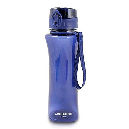 Garrafa Squeeze com Alça  550 ml Azul Jacki Design