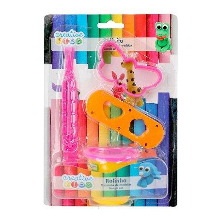 Massinha de Modelar Borboleta Creative Kids 3 Peças