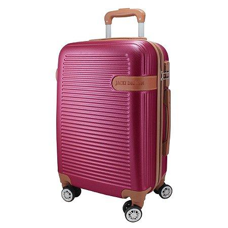 Mala de Viagem de Bordo Premium vinho Giro 360 jacki Design
