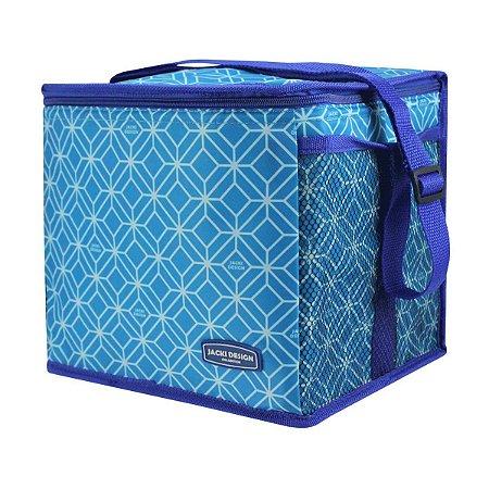 Bolsa frasqueira Térmica Fitness Fresh Azul Jacki Design