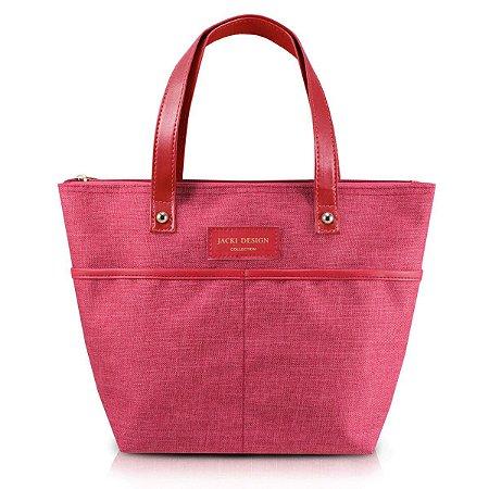 Bolsa P Casual Be You Vermelho com alça de mão Jacki Design