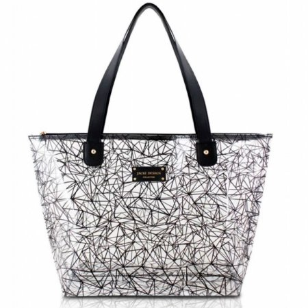 Bolsa Shopper Crystal ABC17190 - Jacki Design preto