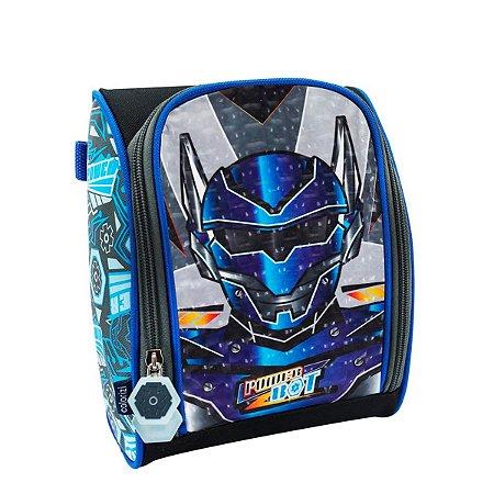Lancheira escolar Térmica de costas Robot Mask Colorizi