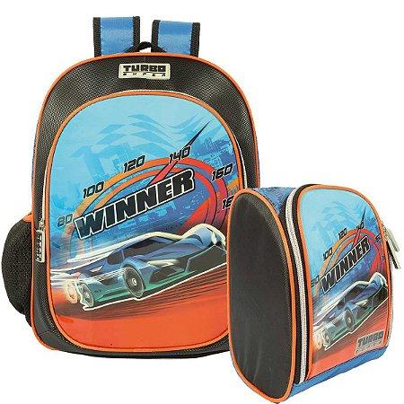 Mochila e Lancheira Térmica Winner Turbo Super Colorizi
