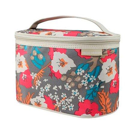 Necessaire Frasqueira Miss Douce floral bege Jack Design