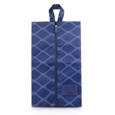 Necessaire Porta Sapato em Poliéster Azul Jacki Design