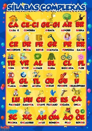 Banner educativo silabas complexas