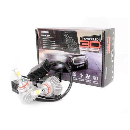 Kit Super Led Headlight 3D HB3 9005 3600 lumens