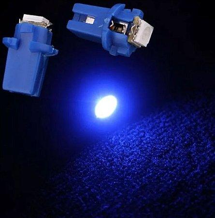 Lâmpada de Led Azul T5 B8.5 5050 Para Painel De Carro