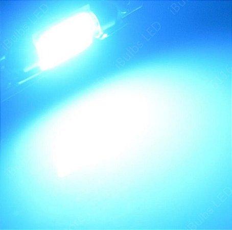 Lâmpada Led Torpedo COB Azul Cristal 31mm