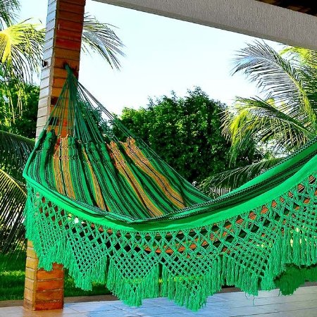 Rede de Dormir Casal Catarinense Verde