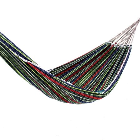 Rede de Dormir Basic Xadrez Verde Bandeira