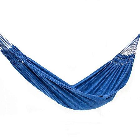 Rede de Dormir Jeans Life Azul com Preto - Basic