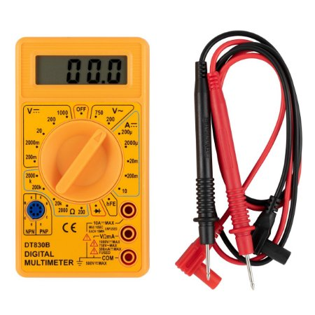 Multímetro Digital Portátil Eda Profissional Com Bateria