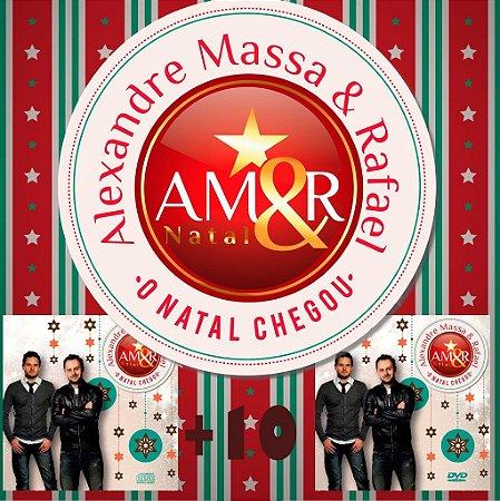"Kit Amigos - CD+DVD ""O Natal Chegou""  - Alexandre Massa & Rafael"
