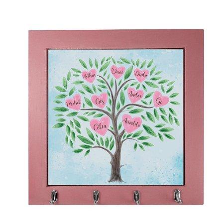Porta-chaves Personalizado Árvore Genealógica