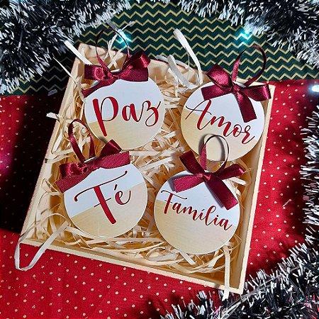 Bolinha de Natal Personalizável