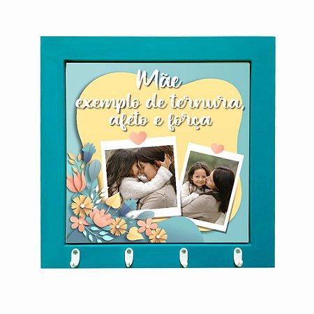 Porta-chaves Personalizado com Foto Dia das Mães
