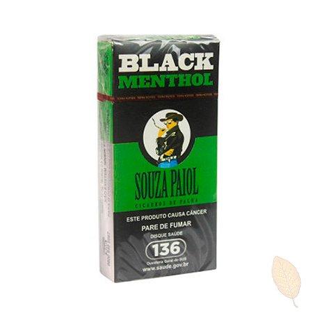 Cigarro de Palha Souza Paiol Black Mentol