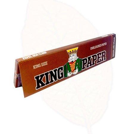Seda para Cigarro King Paper King Size Unbleached