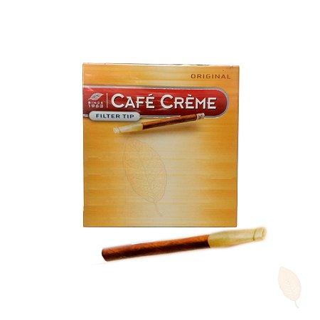 Cigarrilha Café Crème Original com Piteira