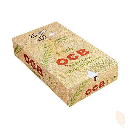 Caixa de Seda para Cigarro OCB Orgânico 1 1/4