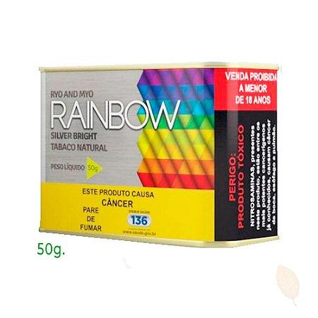 Fumo Cigarro Rainbow Silver Bright Lata 50g Hitobacco