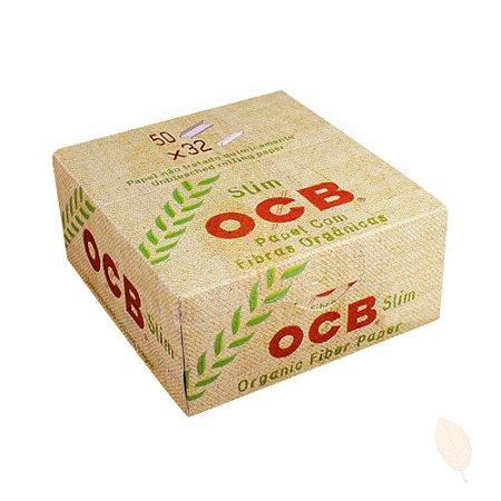 Caixa de Seda OCB Orgânica King Size Slim