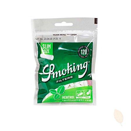 Filtro Smoking Menthol Slim de 6mm