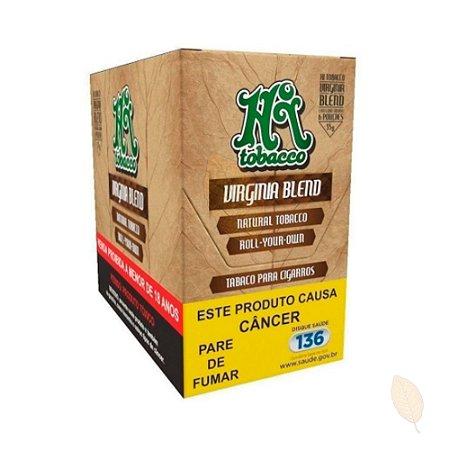 Caixa Tabaco Orgânico Virginia Blend HiTobacco 35g