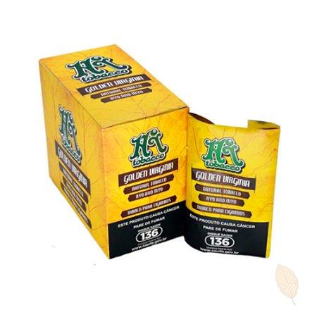 Caixa com 6 Bags de Tabaco para Cigarro Golden Virginia HiTobacco