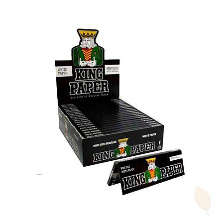 Caixa Seda para Cigarro King Paper Regular Mini Size