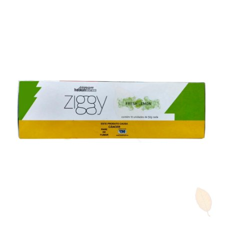 Pack com 10 EssênciaZiggyFresh Lemon - 50g