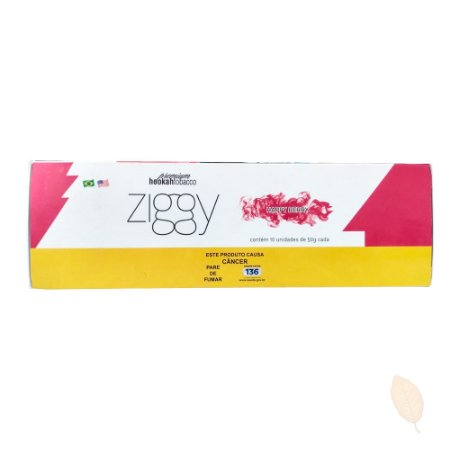 Pack com 10 EssênciaZiggy Happy Berry Framboesa - 50g