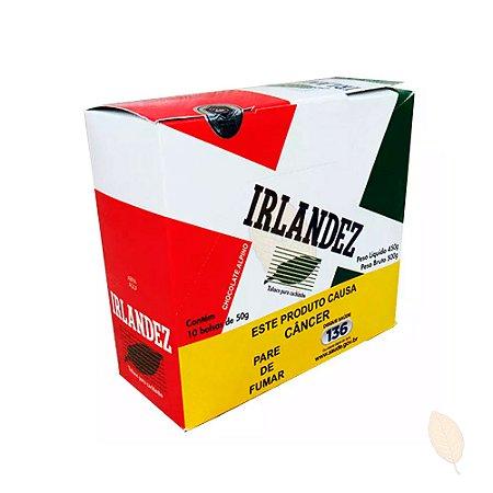 Caixa Tabaco Irlandez Chocolate Alpino para Cachimbo