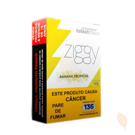 Essência Ziggy Banana Tropical - 50g