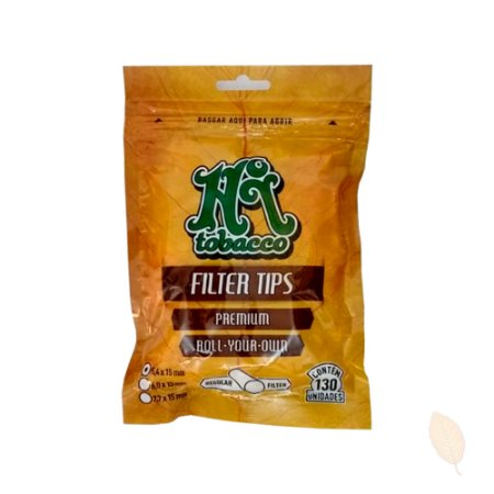 Filtro para Cigarro Premium Super Slim 5,4mm Hitobacco