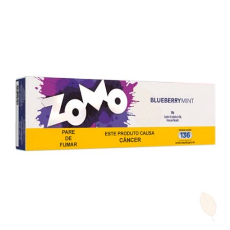 Pack com 10 Essências Zomo Blueberry Mint - 50g