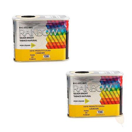2 Latas Rainbow Silver Bright de 50g - Hitobacco