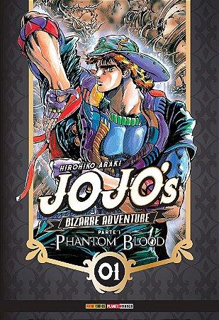 Jojo's Bizarre Adventure - Phantom Blood (Parte 1) - Vol. 01 (Item novo e lacrado)