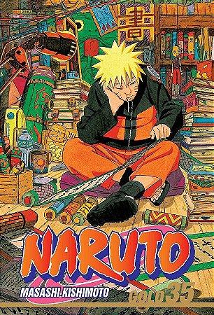 Naruto Gold - Volume 35 (Item novo e lacrado)