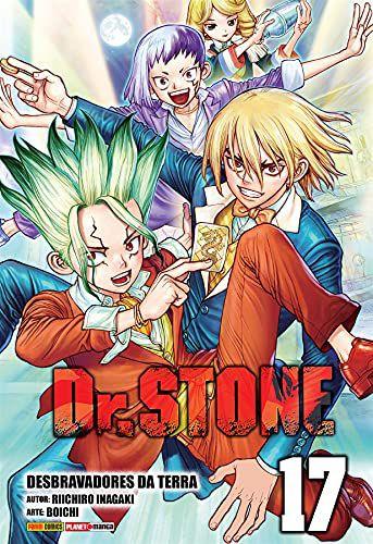 Dr. Stone - Volume 17 (Item novo e lacrado)