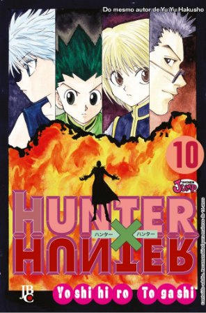 Hunter x Hunter - Volume 10 (Item novo e lacrado)